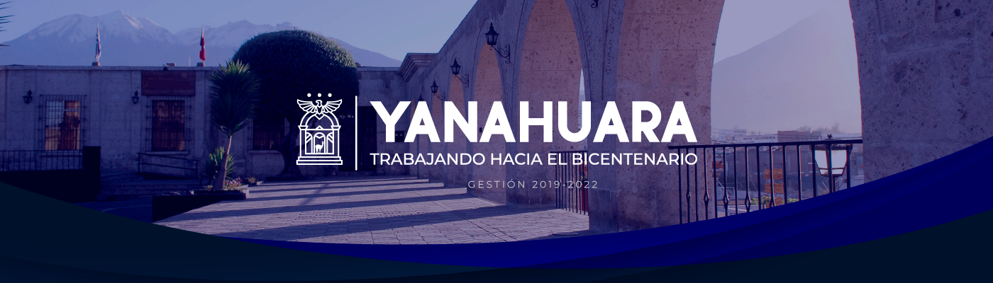 MUNICIPALIDAD DISTRITAL DE YANAHUARA
