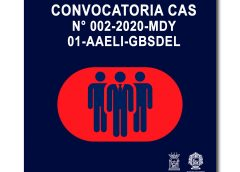 CONVOCATORIA CAS N° 002-2020-MDY 01-AAELI-GBSDEL
