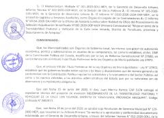 RESOLUCIÓN DE ALCALDÍA N° 057-2020-MDY