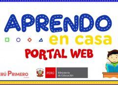 Nota de Prensa APRENDO EN CASA!!