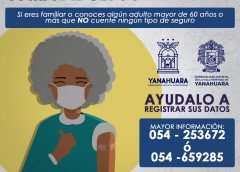 Vacunación para adultos mayores contra el COVID19