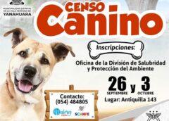 CENSO CANINO EN YANAHUARA!!!